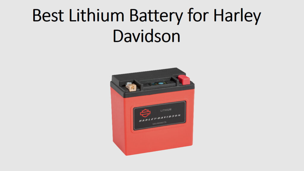 Who Makes Harley Davidson Batteries