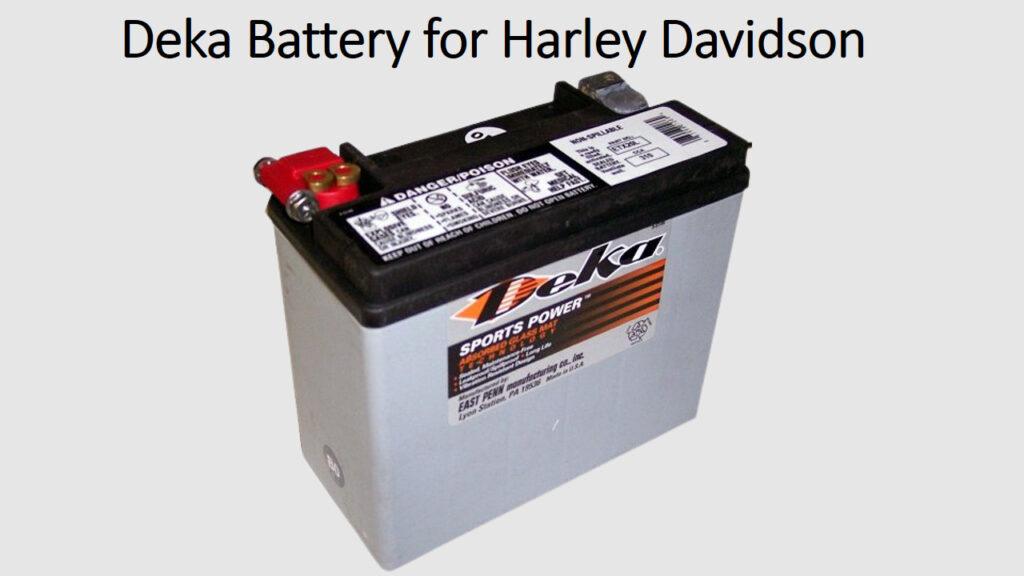 Who Makes Harley Davidson Batteries